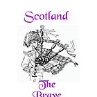 Scotland the Brave by Catherine Hamilton-Veal  ©