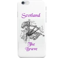 Scotland the Brave iPhone Case/Skin