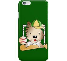 Baseball Doggie iPhone Case/Skin