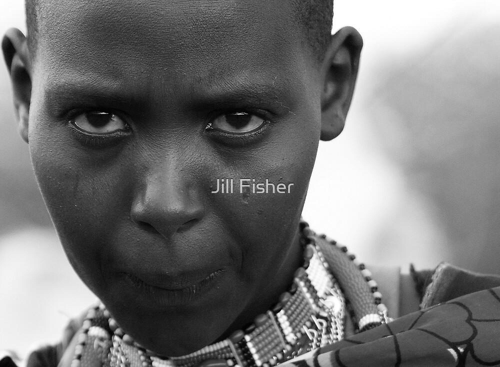 Masai Woman by Jill Fisher
