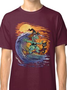 Witch At the Beach Classic T-Shirt