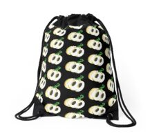 Ghost Lantern Drawstring Bag