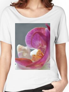 Abstract Orchid Heart. Women's Relaxed Fit T-Shirt