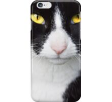 Yellow Cat Eyes iPhone Case/Skin