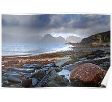 Clearing of the Storm,  Elgol, Skye, Highlands Poster