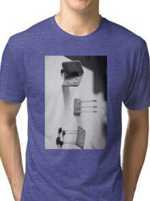 Biscuits, Matches, Raisins Tri-blend T-Shirt