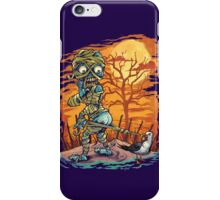 Mummy At The Beach iPhone Case/Skin
