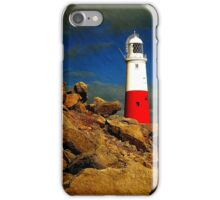 iphone case Portland Bill Lighthouse, Dorset, UK. iPhone Case/Skin