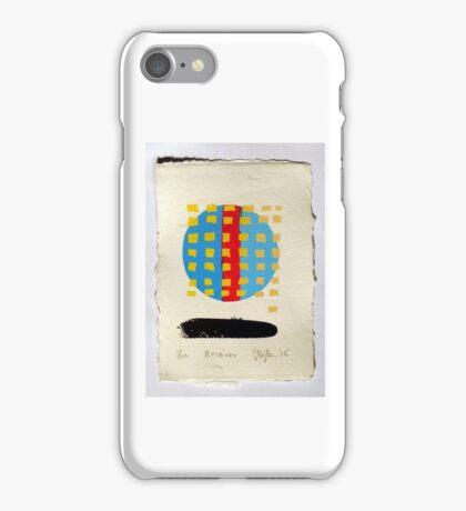Receiver. (Screen Print - 2015) iPhone Case/Skin