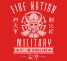 Avatar Fire Nation Baby Tee