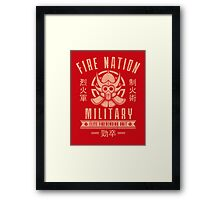 Avatar Fire Nation Framed Print