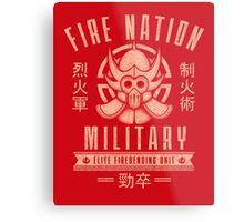 Avatar Fire Nation Metal Print