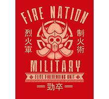 Avatar Fire Nation Photographic Print