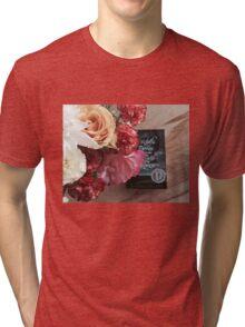Flower Book Tri-blend T-Shirt