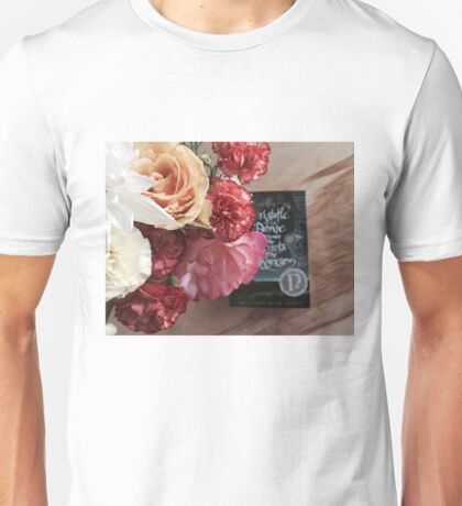 Flower Book Unisex T-Shirt