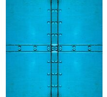 Blue Rivets for iPhone by PaulBradley