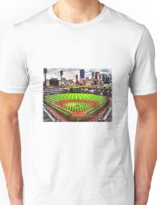 """PNC Park - """"Home of the Pittsburgh Pirates"""" Unisex T-Shirt"""