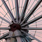 ferris wheel center by Teka77