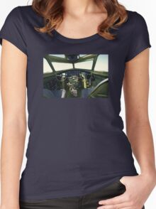 B-17G Women's Fitted Scoop T-Shirt