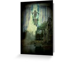 Swing to heaven Greeting Card