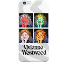 westwood meets warhol iPhone Case/Skin