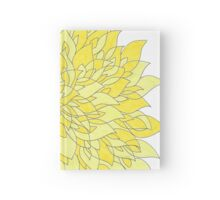 It's yellow. Hardcover Journal