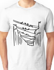 Birds on the Wires Unisex T-Shirt