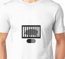Radiohead Inspired Art - A Pig in a Cage / Fitter Happier Unisex T-Shirt