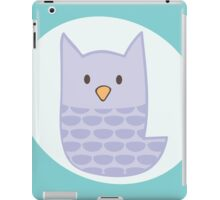 Pastel Purple Owl iPad Case/Skin