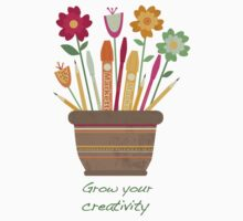 Grow your creativity Kids Tee