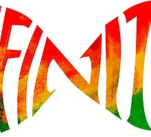 Infinite love jamaica heart by Megaphone Store