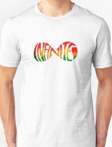 Infinite love jamaica heart Unisex T-Shirt