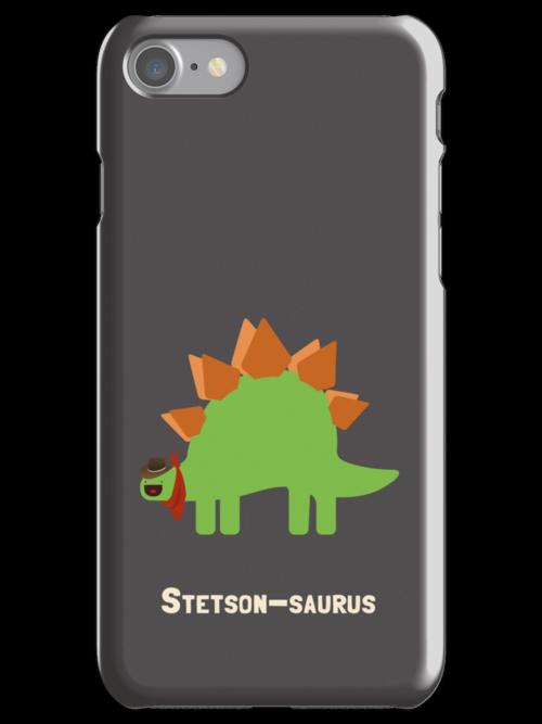 Stetson-saurus by DinobotTees