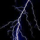 Lightning iPhone case by Rachael Talibart