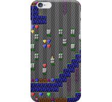 Crystal Caves Blue Stone Level iPhone Case/Skin