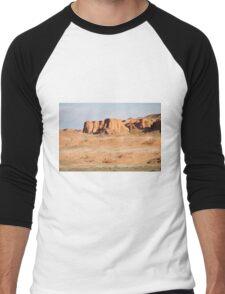 Southern Gobi Mongolia Men's Baseball ¾ T-Shirt