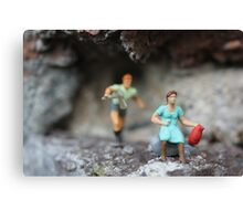 miniature murder Canvas Print