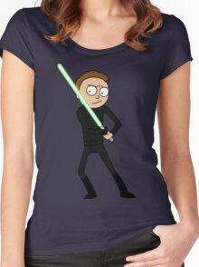 Morty Skywalker Women's Fitted Scoop T-Shirt