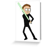 Morty Skywalker Greeting Card