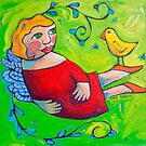 The big let go by ART PRINTS ONLINE         by artist SARA  CATENA
