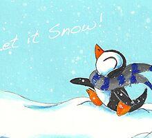 Snowfall by KOKeefeArt