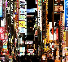 Shinjuku-新宿区 (iPhone case) by AnaBanana