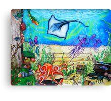 Fantasy Under The Sea Canvas Print