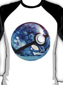 Kyogre   Pokeball T-Shirt