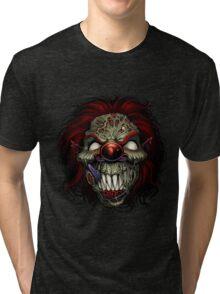 Evil Clown Tri-blend T-Shirt