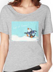 Snowfall Women's Relaxed Fit T-Shirt