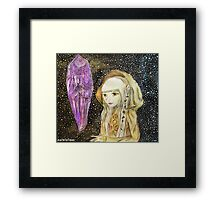 The Dark Crystal - Kira Water Color + Mixed Media Framed Print