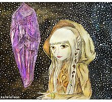 The Dark Crystal - Kira Water Color + Mixed Media Photographic Print