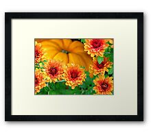 Joy of Autumn Framed Print