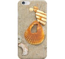 Sand and shells iPhone Case/Skin